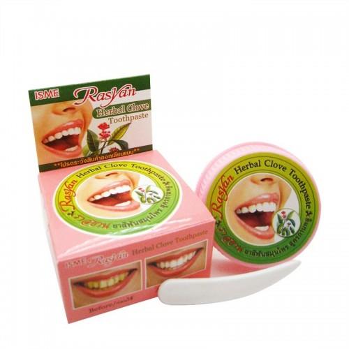 Травяная зубная паста с гвоздикой Rasyan 25г