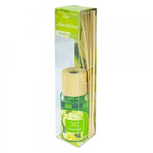 Аромадиффузор с аромамаслом Жасмин 30 мл бамбуковые палочки