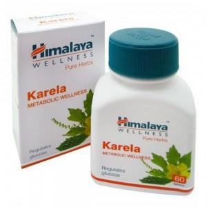 """Karela Himalaya """"Карела"""" для поддержания нормального уровня сахара в крови 60 таб"""