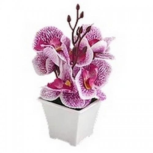 Букет декоративный Орхидеи 20 см фиолетовый