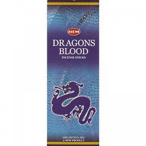 Благовоние HEM 6 гр Голубая кровь дракона Dragon Blood Blue