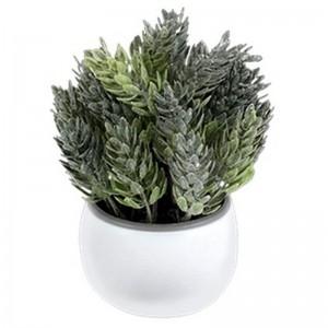 Букет декоративный Мия 17 см темно-зеленый