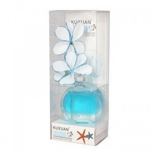 Ароматизатор Жасмин в вазе с аромамаслом Океан 30 мл голубая ваза