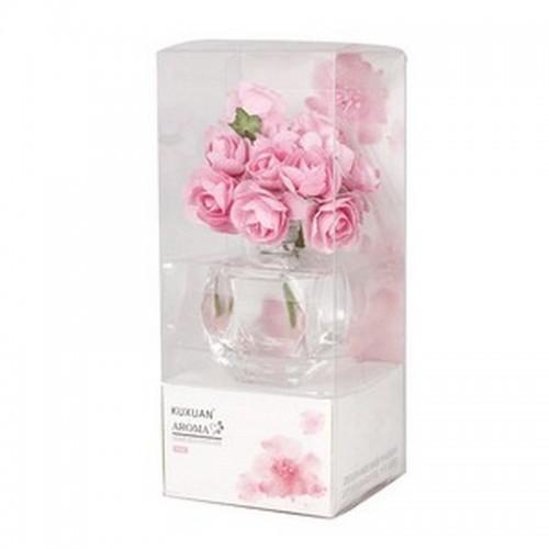 Ароматизатор Розы с аромамаслом Роза 30 мл розовый