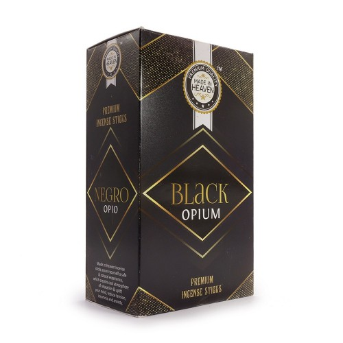 Благовония Made In Heaven 15гр Black Opium аромапалочки Индия