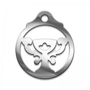Амулет серия символы Суперхит №05 Дом Полная Чаша медицинская сталь