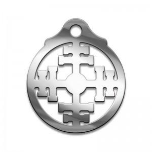 Амулет серия символы Суперхит №10 Колесо Фортуны медицинская сталь