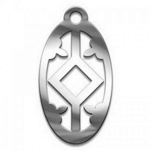 Амулет Славянский №43 Леля медицинская сталь