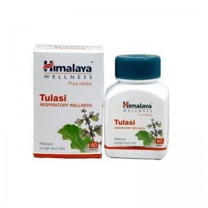 Tulasi Himalaya Туласи - антибактериальное антисептическое средство 60 капсул Индия
