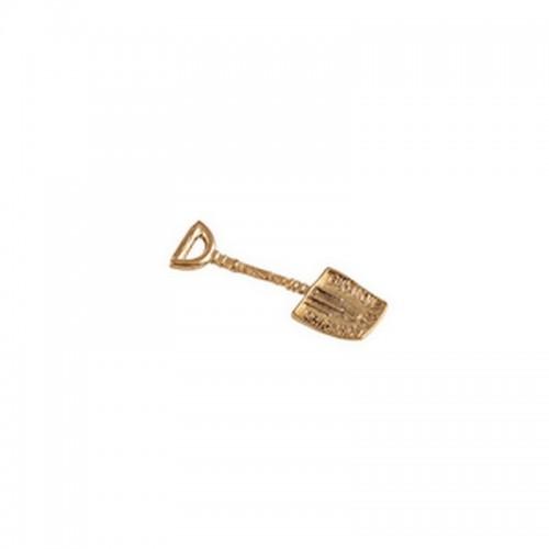 Лопата для денег Денежное благосостояние 3 см под золото металл