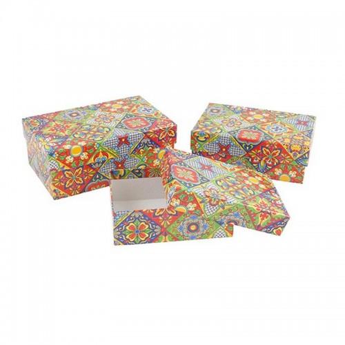 """Подарочная коробка """"Пэчворк"""" Midi"""