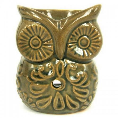 Аромалампа Сова 10см керамика