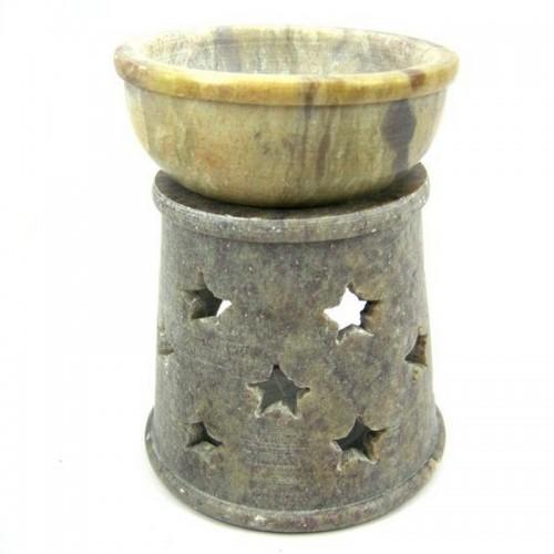 Аромалампа Звёзды 9см камень