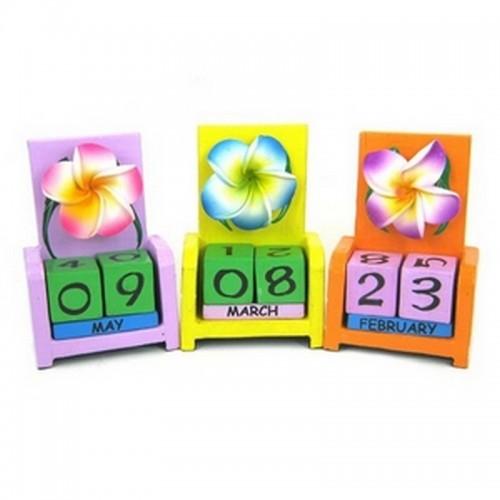 Календарь Цветок, дерево 10х7см
