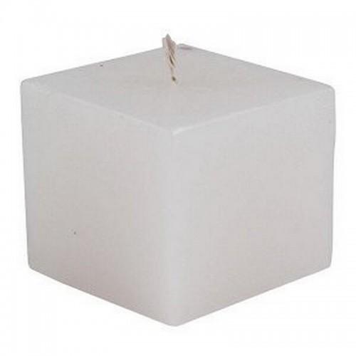 Свеча Куб 5 см белая 5 см парафин