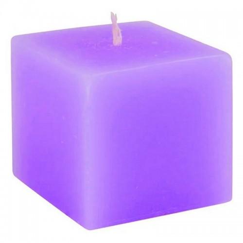 Свеча Куб 5 см фиолетовая парафин