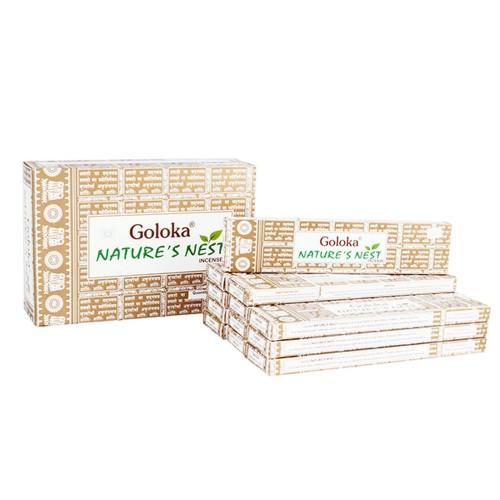 Благовония Goloka 15 гр Уголок природы Nature's Nest