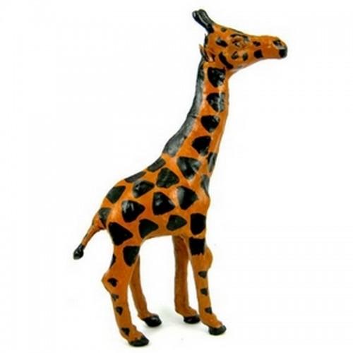 Жираф статуэтка 25х14см кожа