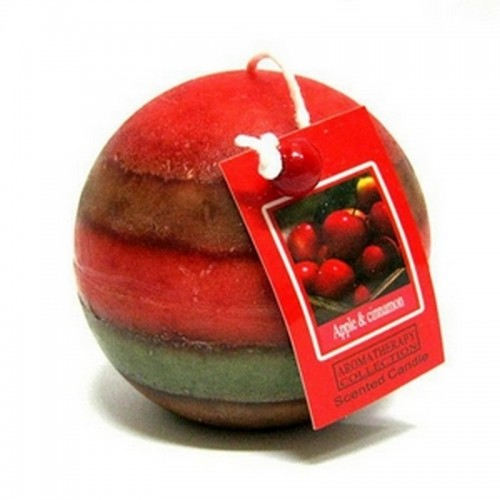 Apple & Cinnamon Свеча ароматическая шар 7,5см парафин