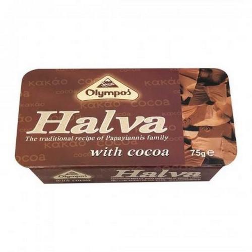 Халва тахинная с какао Olympos 75г