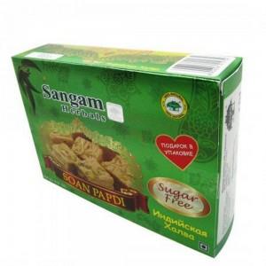 "Индийская халва Соан Папди ""Без сахара"" Sangam 250г"