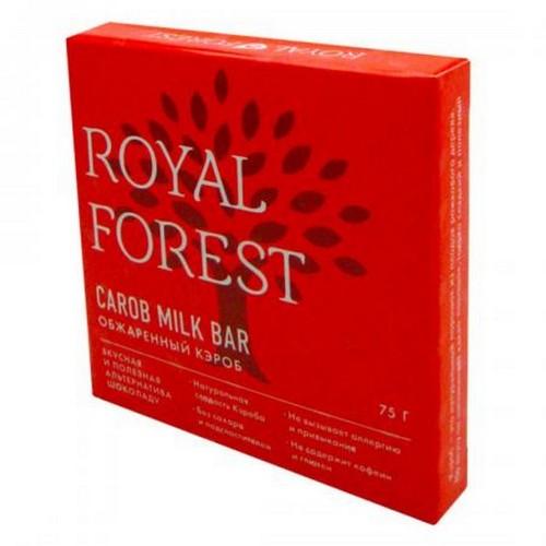 Шоколад из Кэроба обжаренного Royal Forest 75г