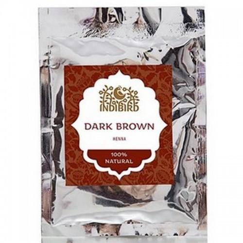Хна тёмно-коричневая (Dark Brown Henna) 50 г