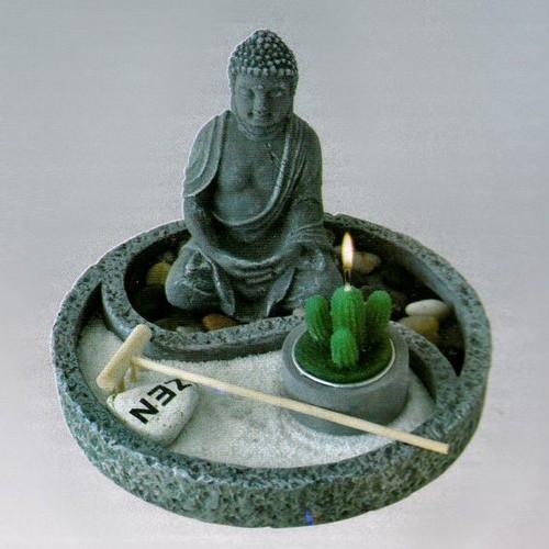 Садик Дзен d.18см Будда, камень