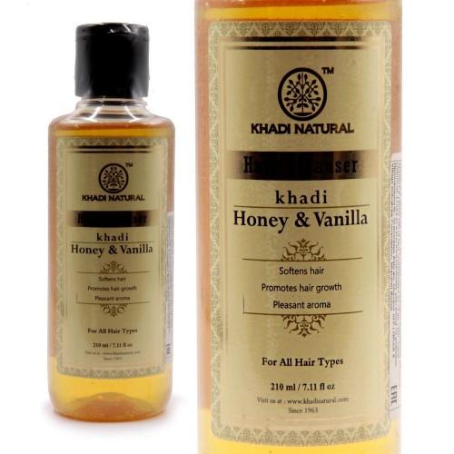 Аюрведический Шампунь Honey Vanilla Khadi Natural 210мл Мед Ваниль Индия