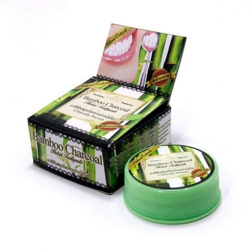 Зубная паста Thai Herbal Toothpaste на основе Бамбукового угля 30гр Таиланд