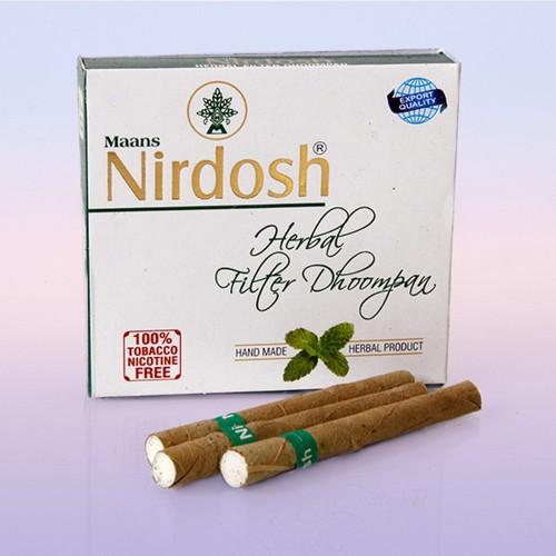 Нирдош Nirdosh сигареты без табака с фильтром 20 сигарет Индия
