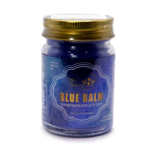 Бальзам Wattana Herb Синий для тела регенерирующий 50гр Таиланд