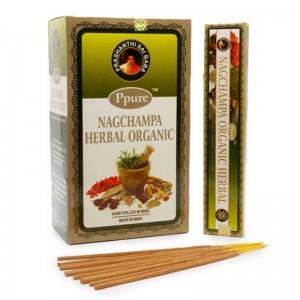 Благовония Ppure Herbal Organic аромапалочки 15гр Бергамот Шалфей Роза