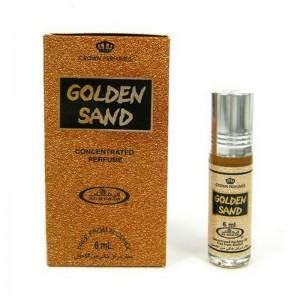 Арабские масляные духи Золотой Песок (Golden Sand), 6 мл