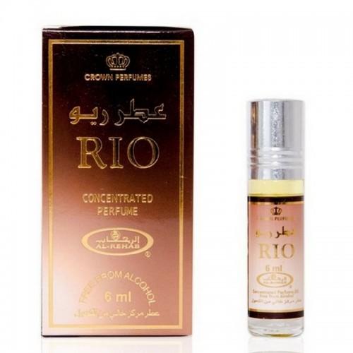 Арабские масляные духи Рио (Rio), 6 мл