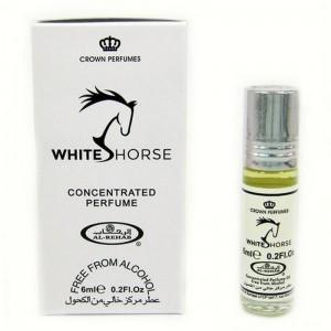 Арабские масляные духи Белая Лошадь (White Horse), 6 мл