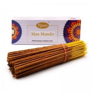 Благовония Ppure Man Mandir аромапалочки Индия Вриндаван поштучно