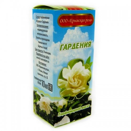 """Масло парфюмерное """"Крымская роза"""" 10 мл Гардения"""