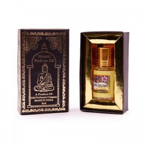 Духи масляные Индийский секрет Delight Buddha Восторг Будды 5мл Индия