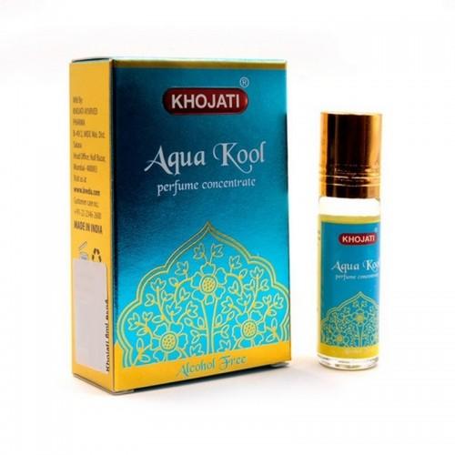 Масло - духи парфюмерное Aqua Kool Khojati 6ml Аква Кул Индия