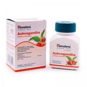 Ashvagandha Himalaya Ашвагандха-индийский женьшень 60 капсул