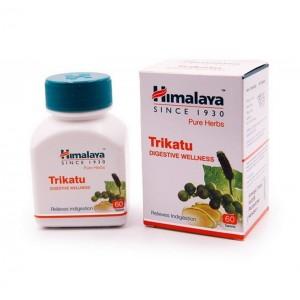 Trikatu Himalaya Трикату для улучшения пищеварения 60 табл Индия