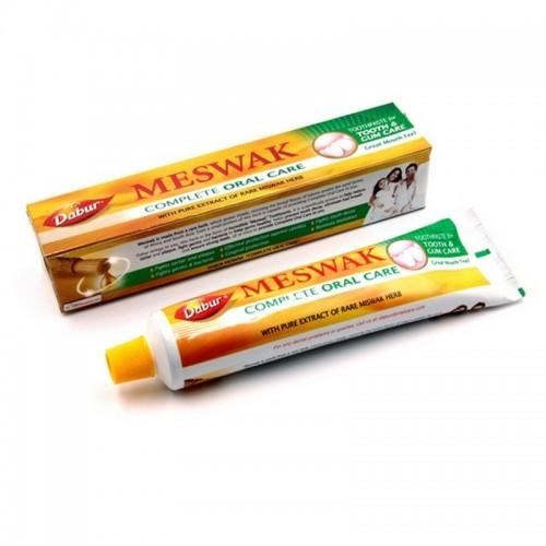 Аюрведическая зубная паста Miswak Dabur 200гр экстракт Мисвак защита полости рта