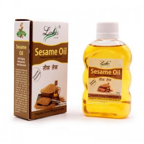 Масло Лалас Кунжутное Mustard oil 100мл Индия