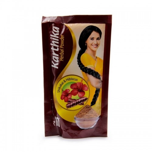 Шампунь-убтан для волос Karthika Cavin Care 50гр Индия