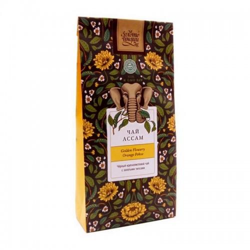 Чай черный ASSAM GFOP 100г в фольге Индия