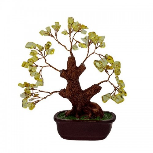 Дерево Цитрин 16х18 см натуральный камень