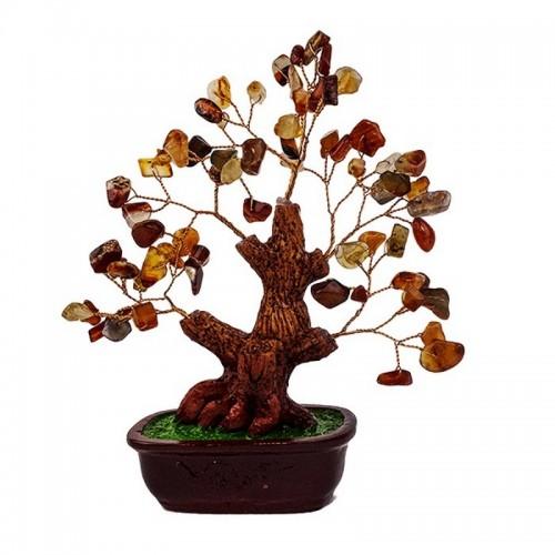 Дерево Сердолик 16х18 см натуральный камень