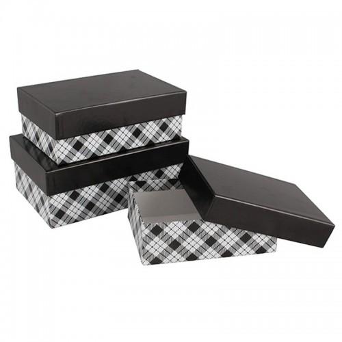 Подарочная коробка Классика 15x10x5 см картон