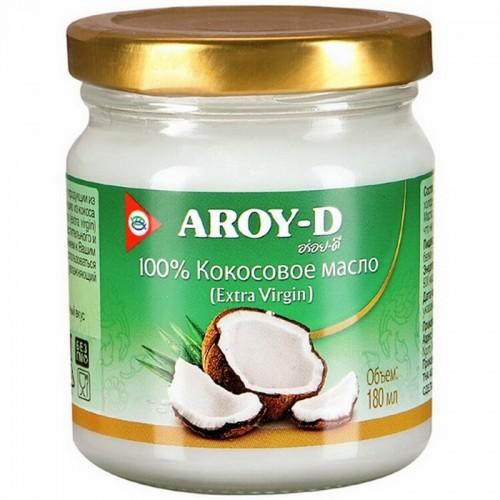 Кокосовое масло Aroy-D, 180 мл